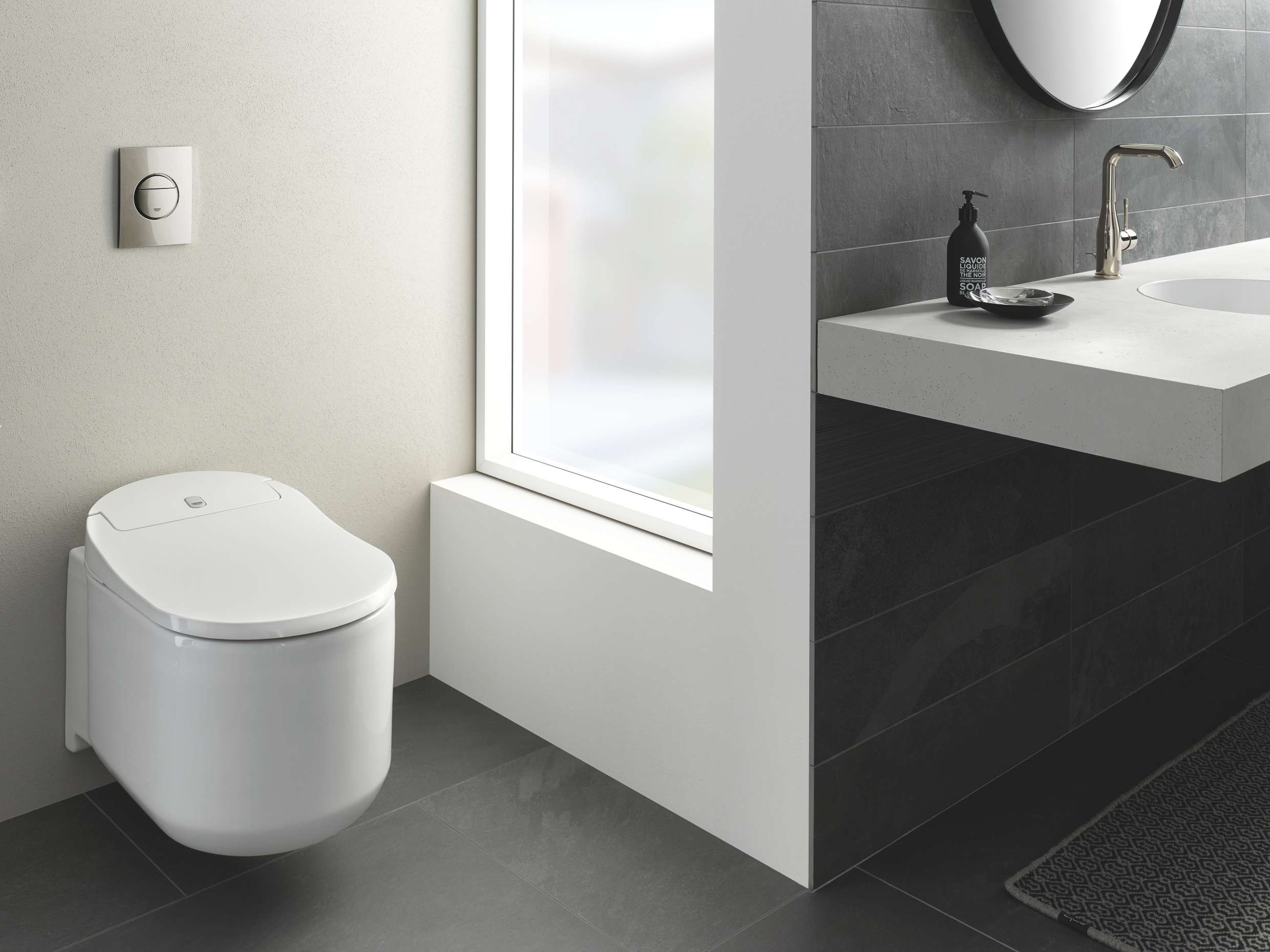 Creating a smart bathroom