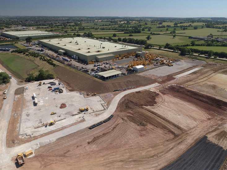 JCB announces £50 million investment in new plant