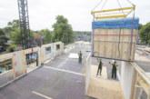 Final bathroom pods installed for timber-framed residential scheme