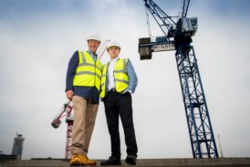 McGoff Group 'tops out' Downtown development in Manchester