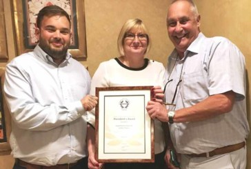 RoSPA recognises Lovell's safety record