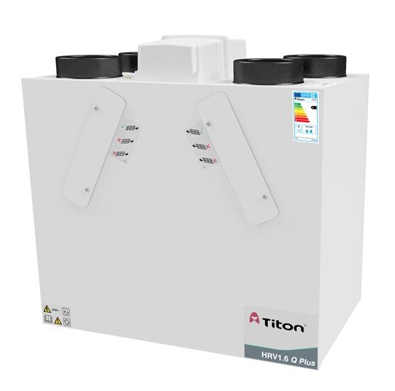 Titon extends MVHR range – new 1.6 Q Plus unit