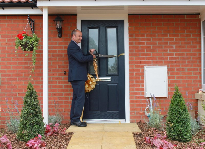 Larkfleet Homes opens show home on age-exclusive development in Lincolnshire