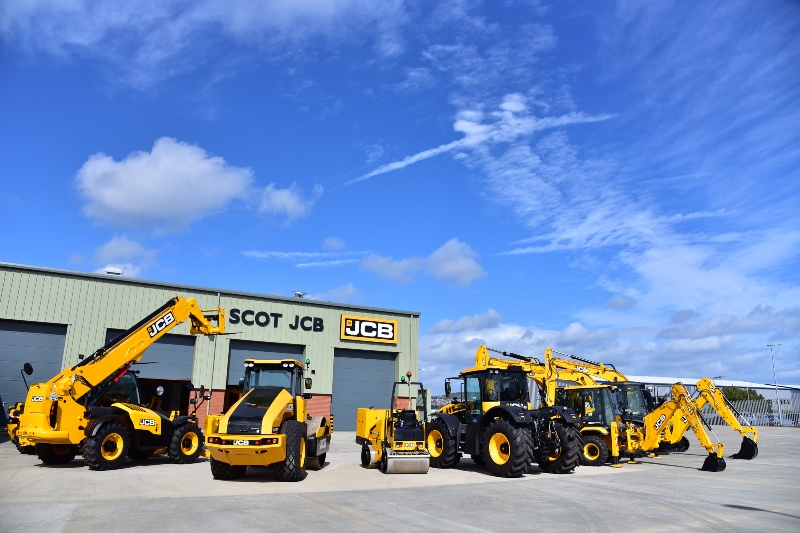 Lord Bamford opens new Scot JCB depot in Edinburgh