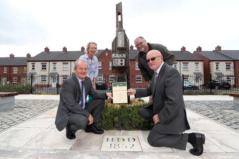 Recognition for Jelson Homes at historic Wigston development