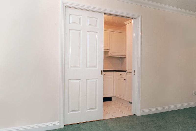 Interiors | Space saving pocket doors