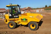 JCB site dumpers selected by Tonic Construction