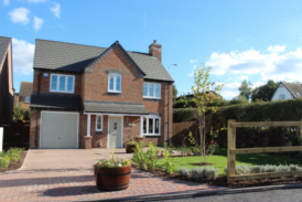 Five plots reserved at Hathorn Manor in Rugeley