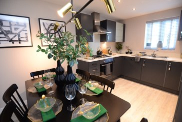 New showhomes launched at Mansfield development