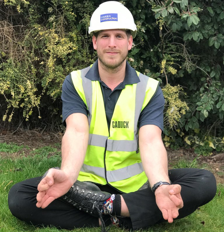 Caddick Construction invests in Health & Wellbeing