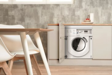 Indesit launches built-in washing machine and washer dryer