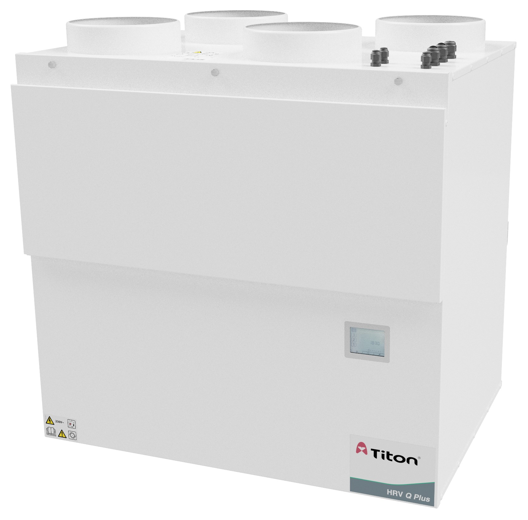 Titon launches its most powerful MVHR unit