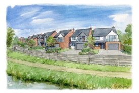 New waterside homes on the way in Moira