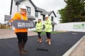 Springfield Properties debuts 'plastic' road