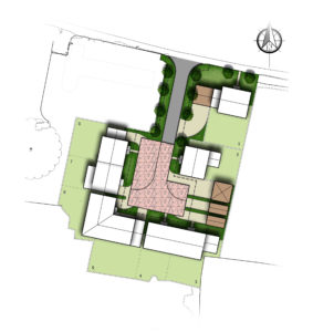 The Farriers, site plan