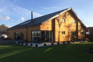Ground source heat pump provides warmth to rural barn conversion