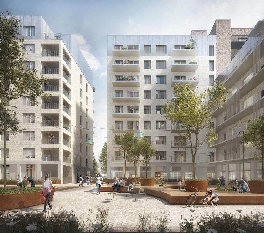 Green Living Planned At New Gascoigne Estate 183 Phpd Online