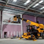JCB launches its first ever rotating telehandler
