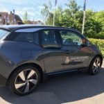 Electric car causes a buzz at Basingstoke development