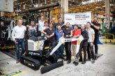 Bobcat's electric excavator rolls off production line