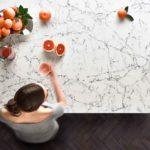 Caesarstone kitchen worktops selected by Bloor Homes
