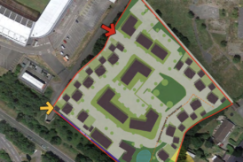 Llanelli land parcel with planning for 94 new homes