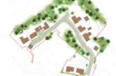 Three-acre site in Derbyshire with outline planning permission