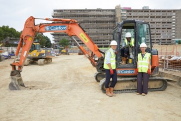 Work underway on Aylesbury estate homes