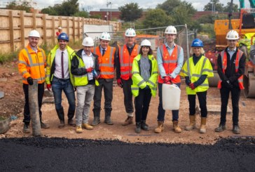 Willmott Dixon unveils 'green' roads at Bristol development