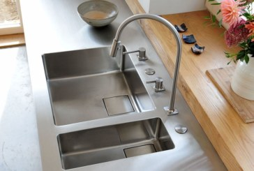 Franke offers bespoke stainless steel worksurfaces