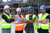 Jones Homes encourages apprentices at Holmfirth site