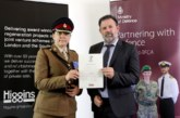 Higgins signs Armed Forces Covenant
