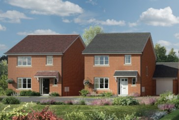 Great Blakenham housing development reaches key milestone