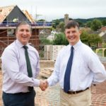 Work on new homes in Pontesbury begins