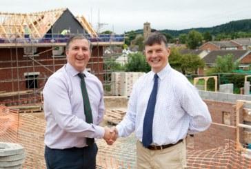 Work on new homes in Pontesbury begins