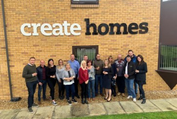 Create Homes moves house
