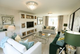 New show homes at Houghton Conquest development