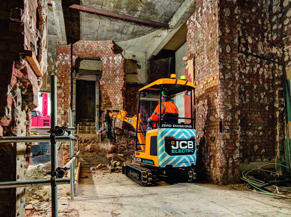 Jcb 19c 1e Mini Excavator Charge Ahead Phpd Online