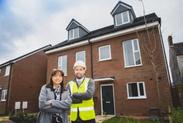 St. Modwen Homes installs its first modular homes