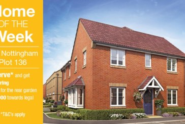 New Larkfleet show home opening at Deeping Meadow