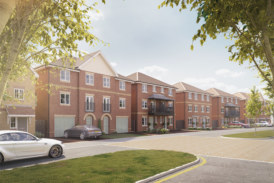 Elizabeth Park in Hersham unveiled to house hunters