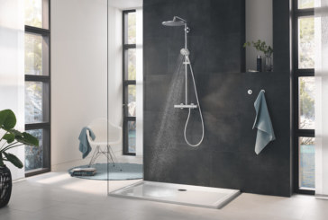 Rainshower 310 Mono: The luxurious statement headshower with water-saving eco credentials