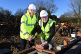 First bricks laid in Kidderminster