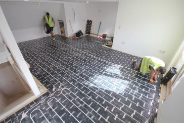 OMNIE underfloor heating selected for zero-carbon homes in Cornwall