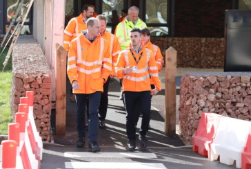 HRH The Duke of Cambridge officially opens Tarmac's new industry-leading training facility
