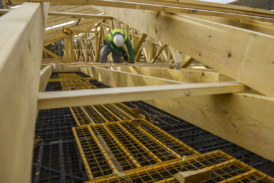 Improve site safety with the Rhino Load Deck System