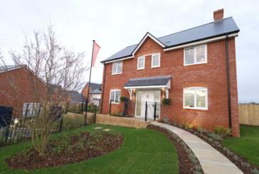 New homes development in Wimborne now open