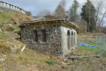 Scottish estate back from the ashes