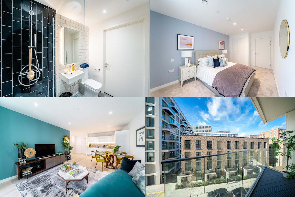 First Help to Buy homes launch at riverside development, Royal Wharf