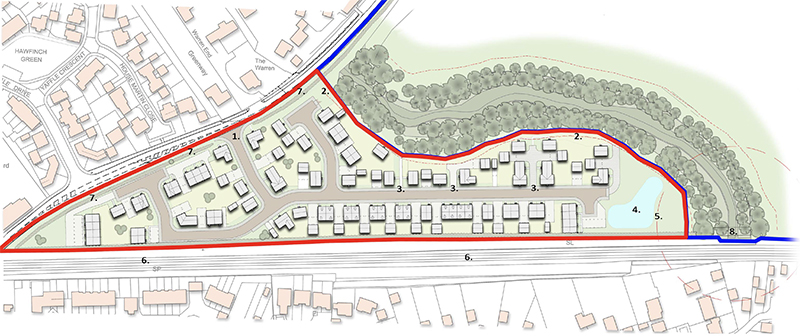 Approval for 70 new homes in Desborough